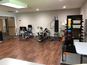 Alpine Way Senior Living Ageility fitness center