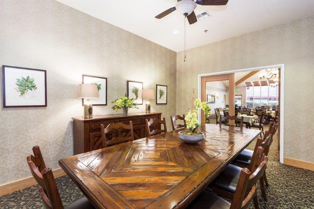 Alpine Way | Assisted living formal dining room